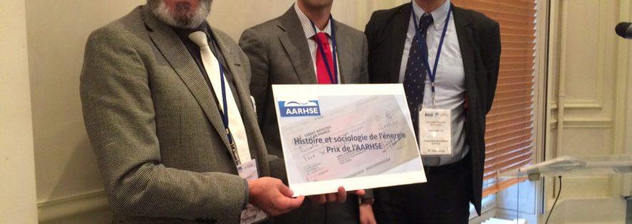 Prix de l'AARHSE: lauréats 2016