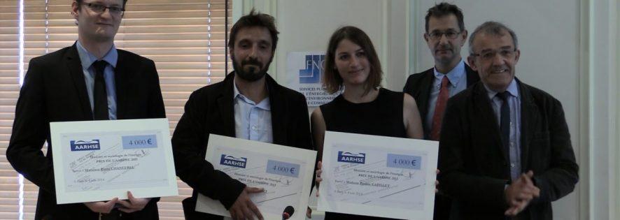 Les lauréat-e-s du deuxième concours de l'AARHSE